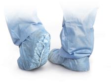 Medline Spunbond Polypropylene Non-Skid Shoe Covers