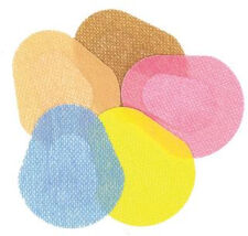 Orthoptic Eye Patches, Solid Colors