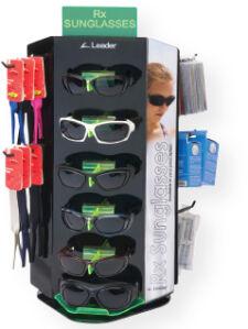 Rx Sunwear Leader Merchandising Display