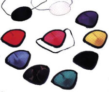 Fabric Color Eye Patches with Elastic Band