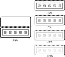 Numbers Low Contrast Flip Book