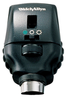 Welch Allyn 3.5V Xenon Prestige Coaxial-Plus Ophthalmoscope Head Only