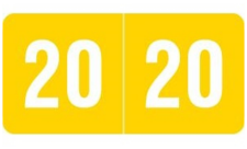 Smead® Year End Tab Labels