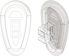 Logic® 2.0 Nose Pads Vinylon