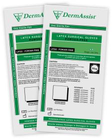 DermAssist™ Surgical Latex Gloves