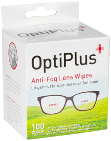 OptiPlus Anti-Fog Lens Wipes