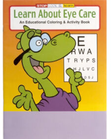 Learn about Eye Care Coloring Book