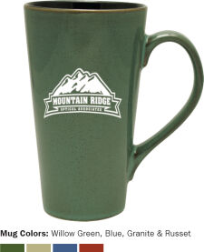 Glazed Ceramic Mug