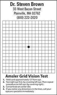 Amsler Grid Magnet