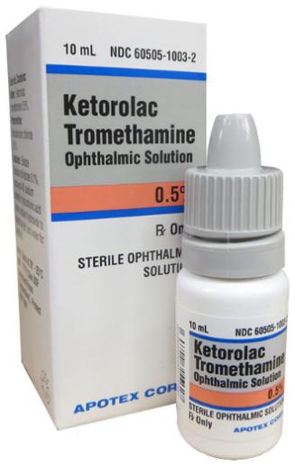 Ketorolac Tr Solution 0.5% 10Ml