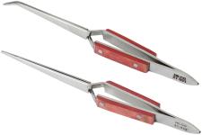 Tweezers - Straight and Bent Nose Self-Closing