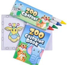 Coloring Set - Book & Crayons